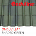 GENTENG ONDUVILLA WRN SHADED GREEN (1060 x 40 MM) - FREE SEKRUP 5 PCS