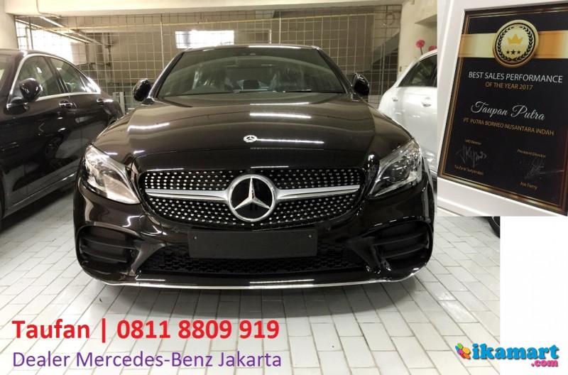mercedes-benz new c300 amg facelift hitam best deal
