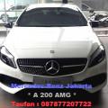 Promo Jual New MercedesBenz A200 AMG | Harga Dan Diskon Spesial Mercedes-Benz A 200 AMG | Dealer Mercy Jakarta