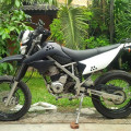 KLX 150S 2014 Hitam Full Original