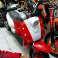 Jual mini scoter model scoopy, hub 082292651576