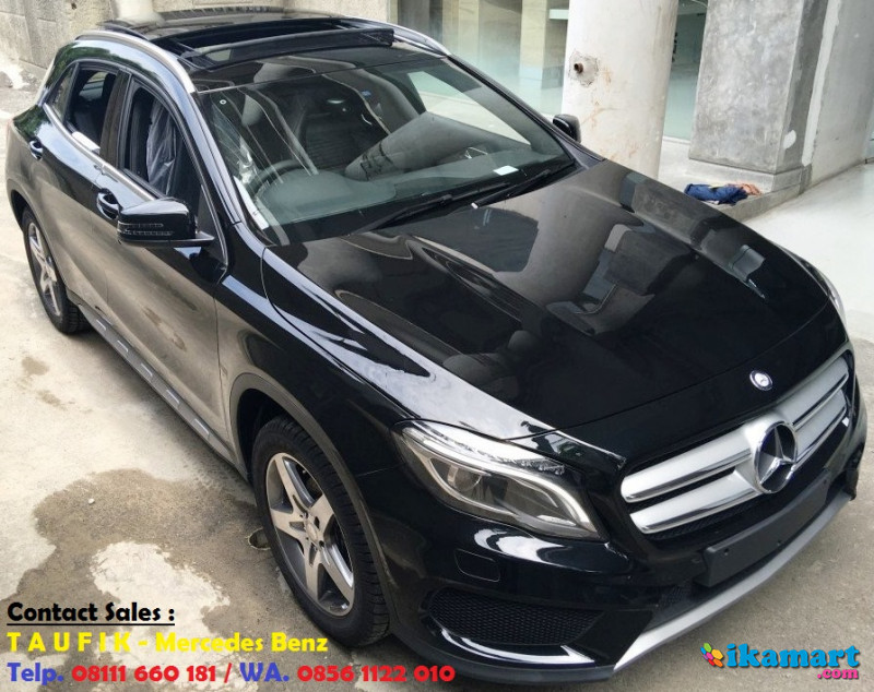 ready stock mercedes-benz gla 200 amg warna hitam nik 2016