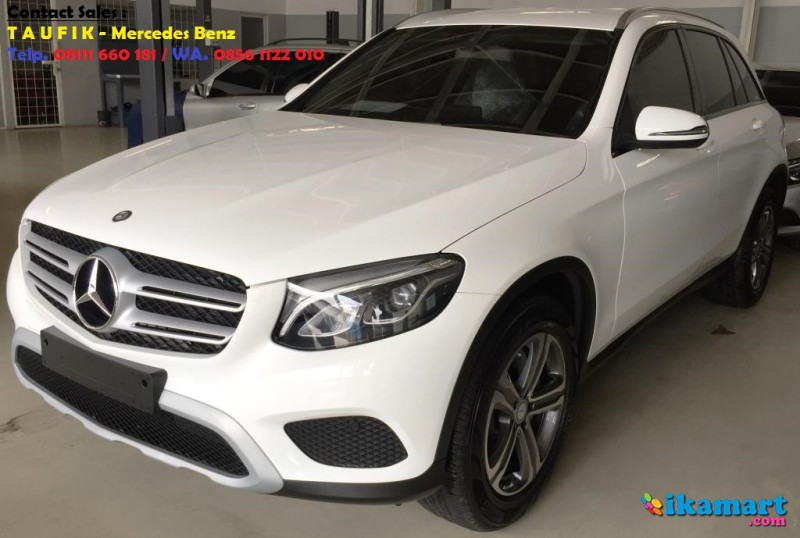 ready stock mercedes-benz glc 250 warna putih nik 2017