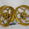 Velg Axio gold Honda CB 150,NMP,Verza 4,5-3 inch