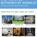 Signal Booster Antenna for 3G Mobile Phones GSM 900MHz Mobile Phone Signals Booster