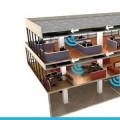repeater antena Gedung Ruko, rumah, pabrik, toko, gedung parkiran, gedung perkantoran, apartemen, villa, pedalaman, pede