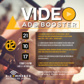 Tiket Seminar Video Ads Booster 21 Oktober 2017