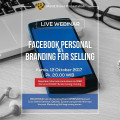 Tiket Webinar FACEBOOK PERSONAL BRANDING FOR SELLING