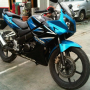 Jual Honda CBR 150 Biru 2008 Mulus TERAWAT KM 4000 an