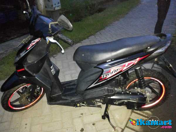 Honda Beat Karbu 2012 Hitam Mls Dki Motor