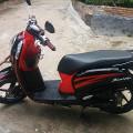 Scoopy fi 2014 merah hitam