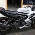 Kawasaki Ninja KRR PUTIH 2012