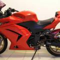 Ninja kawasaki merah tahun 2012 karbu 250cc