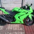 Kawasaki Ninja 250cc Karbo 2012 hijau