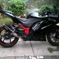Kawasaki ninja 250cc thn 2012