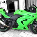 Di maharin ja ninja 250 cc th 2009 mulus