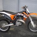 Ktm Exc 200cc Enduro 2tak Thn 2010 Orisinalan