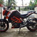 Jual KTM DUKE 200cc