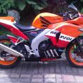Motor Honda CBR250R 2011 masih seger