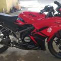 Kawasaki ninja new KRR 2013 Plat DN