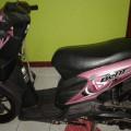 Honda Beat 2010 Warna Pink Mulus
