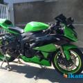 Jual Kawasaki Ninja ZX6r th 2012 Hijau