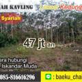 Jual Tanah Kavling Malang Pakis (Kedungrejo)