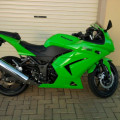 Ninja r 250 karbu thn 2012