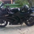 Dijual Ninja 250 karbu 2012