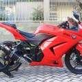 Di jual ninja 250R th 2012 bulan oktober