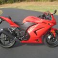 Kawazaki ninja 250cc karbu th 2012 KM 17rb