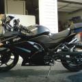 Ninja 250 cc 2012 pjk idup