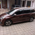 Honda Mobilio E CVT 2014 Merah Tembaga Tangan Pertama & Sangat Terawat