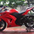 ninja 4tak 250cc th 2012 kondisi original mulus