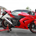 kawasaki ninja 250cc th 2012 kondisi original mulus