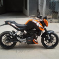 Jual RUGI Motor KTM Duke 200 Surat Lengkap NEGO