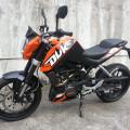 Motor KTM Duke 200 Surat Lengkap NEGO