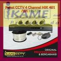 pasang cctv hikvision 4 chanel murah