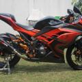 kawasaki Ninja 250 Fi Special Edition ABS Orange 2014 Akhir