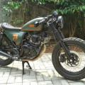 DIJUAL : Yamaha Scorpio Modif CafeRacer Gahar