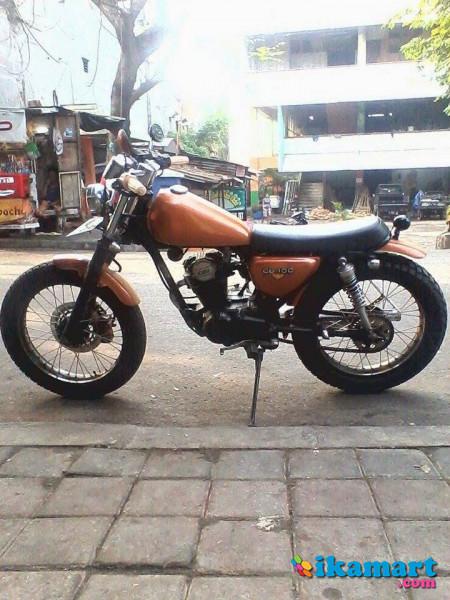 Dijual Honda Gl100 94 Modif Japstyle Motor