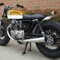 Honda CB 350 Brat style custom