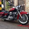 Harley davidson roadking police 2012 mulus nypd