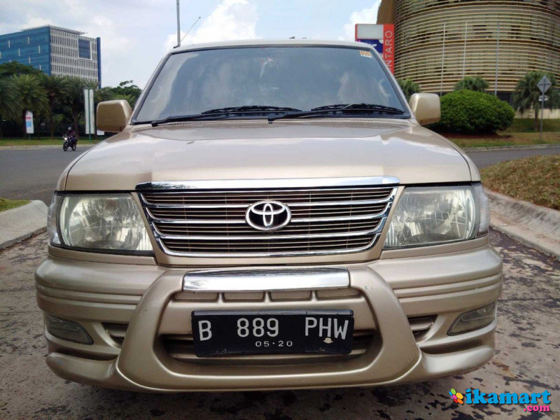 toyota kijang krista 1.8 efi th. 2000 a t full option