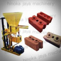 Mesin press interlocking Brick keluar 1 pcs