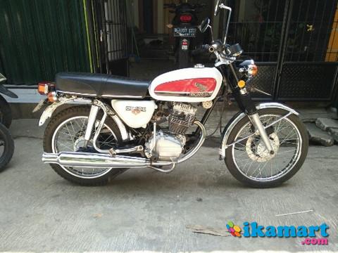 Honda Gl 100 Modif Cb 100 Gelatik Ori Look Motor