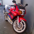 NSR 150 SP - HRC Edition (Merah Putih Striping Biru motif HRC) Tahun 2001