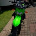 Kawasaki D-Tracker 150 Th 2015 Warna Hijau