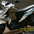 Jual Honda BeAT Esp Cbs Pgm fi 2017 White in Blue Istimewa