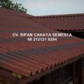 Atap Bitumen / Genteng Aspal Onduline Tile